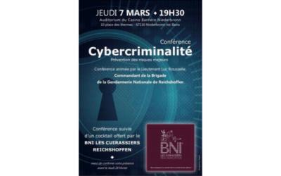Conférence Cybercriminalité