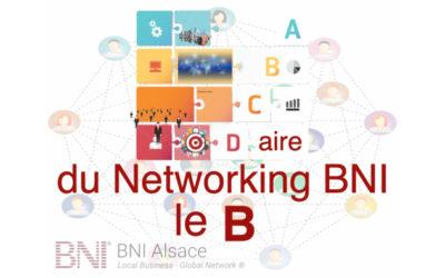 ABCDaire du Networking : le B ….