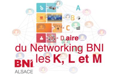 ABCDaire du Networking BNI : le K, L et M….