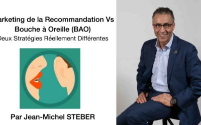 Marketing de la Recommandation Vs Bouche à Oreille