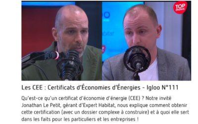 Jonathan Le Petit, Chroniqueur sur Igloo on Air