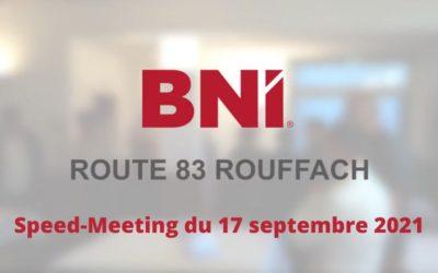 Speed-Meeting du BNI Route 83 Rouffach