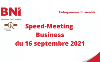 Speed Meeting du Groupe BNI Bartholdi Colmar